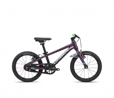 Orbea Kinderfahrrad MX 16 - 2021 | 16 Zoll | Purple-Mint
