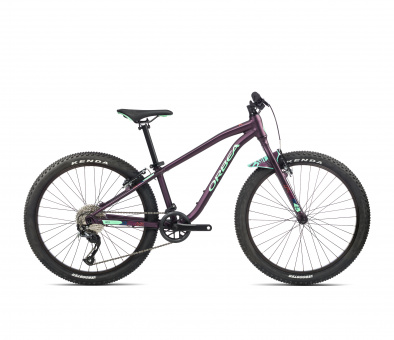 Orbea Kinderfahrrad MX 24 DIRT - 2021 | 24 Zoll | Purple-Mint