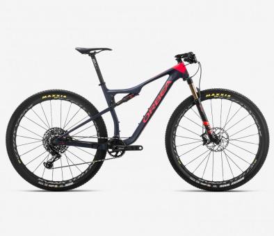 Orbea Mountainbike Oiz M10 2019 | hellblau-rot