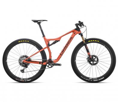 Orbea Mountainbike Oiz M-Team 2019 | orange-schwarz