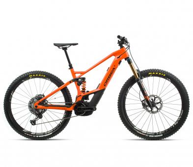 Orbea Wild FS M-Ltd - 2020 | Orange/Black