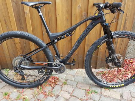 Orbea Mountainbike Oiz XT-Edition 2019 | schwarz-orange