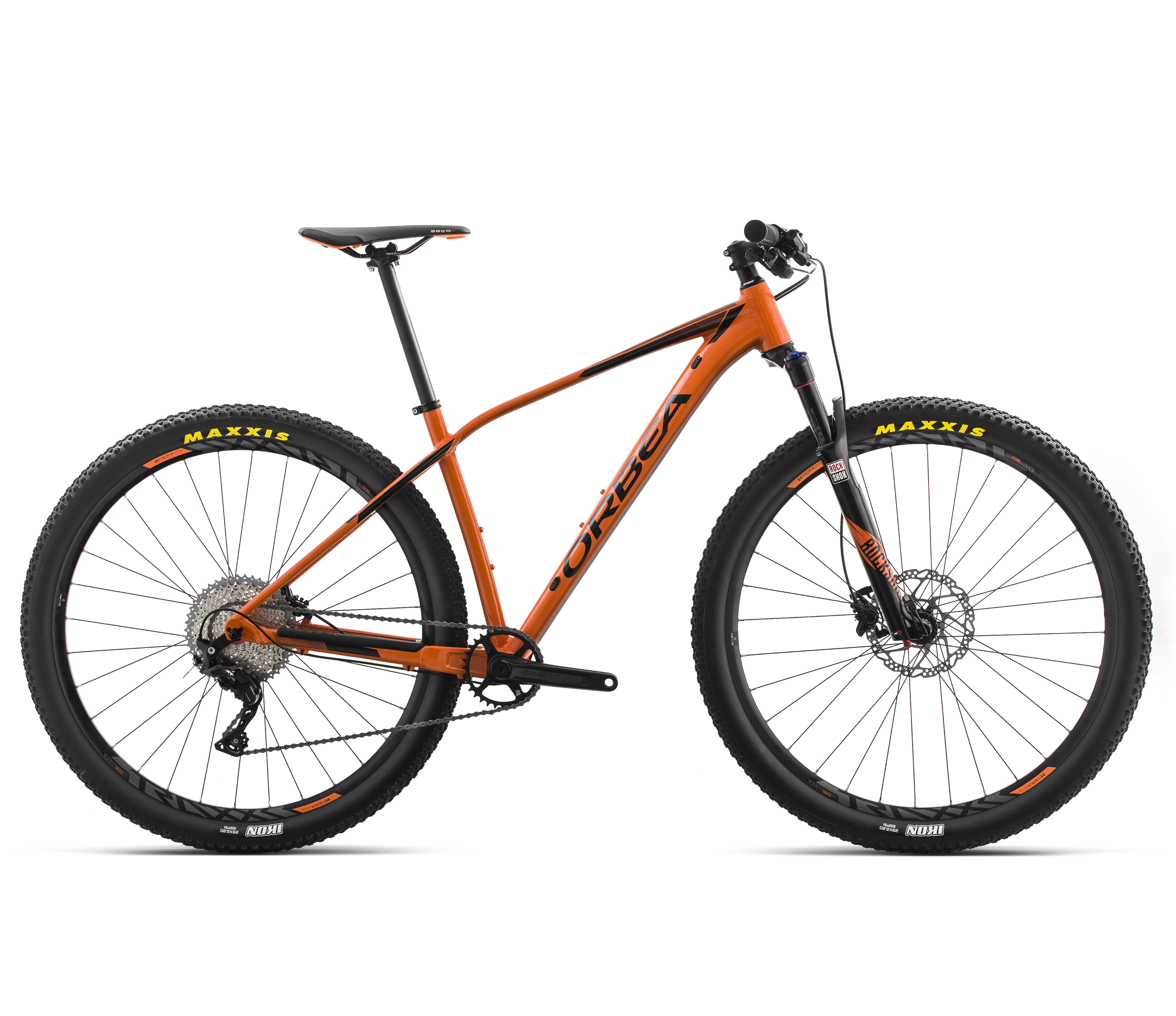 Orbea Versand | Orbea Mountainbike Alma H20 | Orange-Schwarz ...